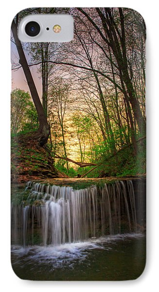 Gypsy Glen  Rd Waterfall  IPhone Case by Emmanuel Panagiotakis