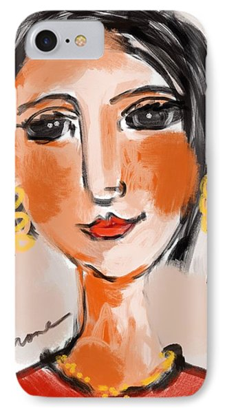 Gypsy Lady IPhone Case by Elaine Lanoue