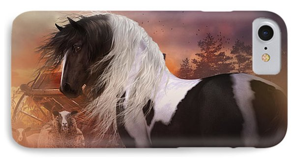 Gypsy On The Farm IPhone Case by Shanina Conway