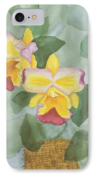 Gypsy Orchids IPhone Case