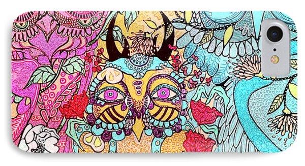 Gypsy Owl IPhone Case