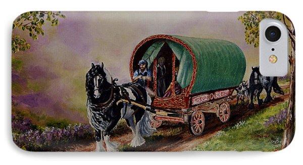 Gypsy Road IPhone Case