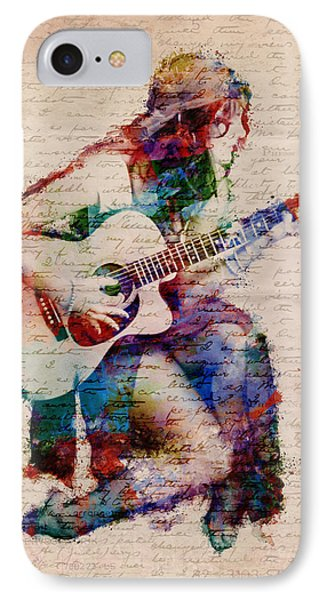 Rock And Roll iPhone 7 Case - Gypsy Serenade by Nikki Smith
