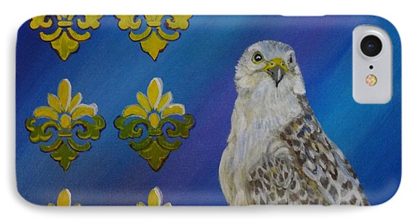 Gyr Falcon Phone Case by Isabel Proffit
