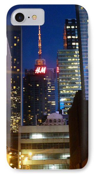 H M Building IPhone Case