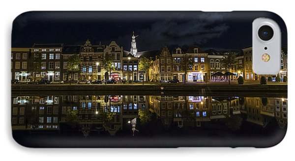 Haarlem Night IPhone Case by Chad Dutson