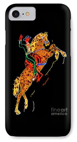 Hacienda Horse And Rider IPhone Case by Az Jackson