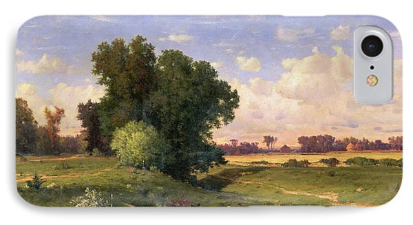 Hackensack Meadows - Sunset Phone Case by George Snr Inness