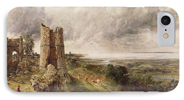 Hadleigh Castle IPhone Case by John Constable