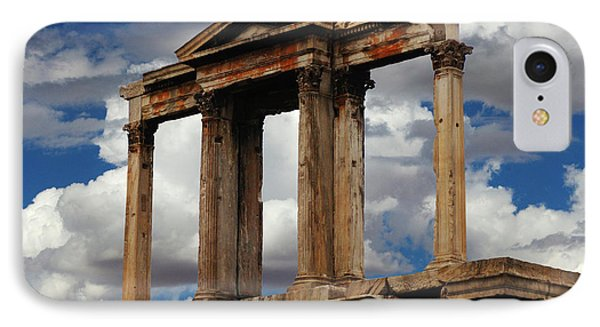 Arch Of Hadrian Athens IPhone Case