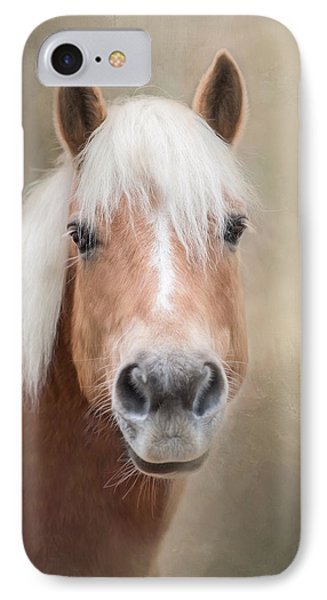 IPhone Case featuring the photograph Haflinger by Robin-Lee Vieira