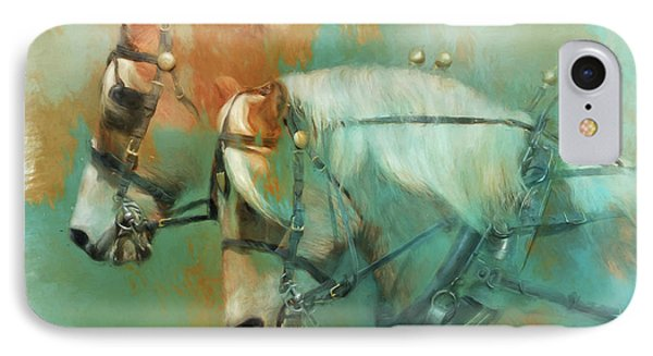 Haflinger Team IPhone Case by Kathy Russell