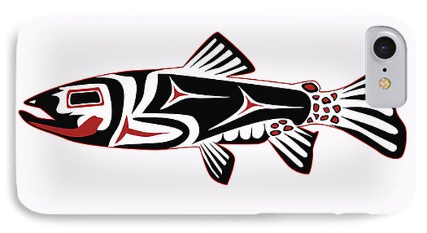 Haida Trout IPhone Case by Rob Tullis