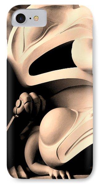Haida Two IPhone Case by Ian  MacDonald