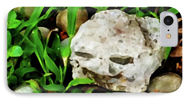 Haight Ashbury Smiling Rock IPhone Case by Gina O'Brien