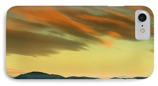 IPhone Case featuring the photograph Hailing The Sky by John De Bord