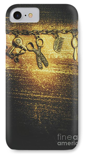 Hairdressing Beauty Salon Background IPhone Case by Jorgo Photography - Wall Art Gallery