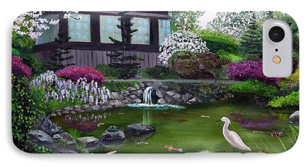 Hakone Gardens Pond In The Spring IPhone Case