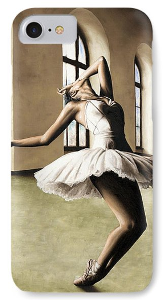 Halcyon Ballerina IPhone Case by Richard Young