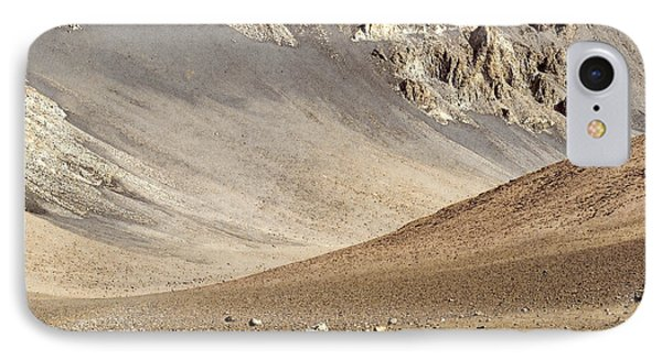 IPhone Case featuring the painting Haleakala Crater Floor by Peter J Sucy