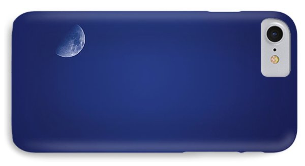 Half Blue Moon IPhone Case by Jorgo Photography - Wall Art Gallery