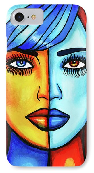 Half Breed Woman IPhone Case