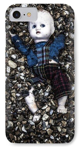 Half Buried Doll IPhone Case by Joana Kruse