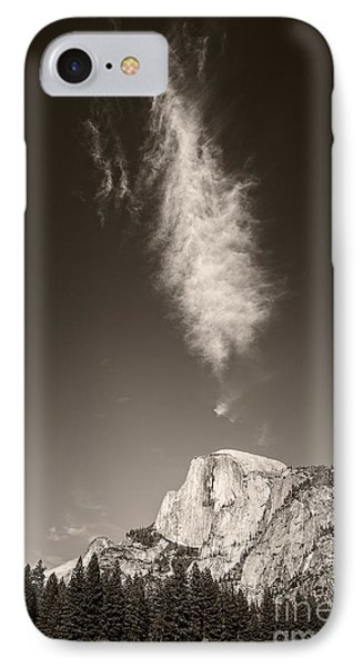 Half Dome And Cloud IPhone Case