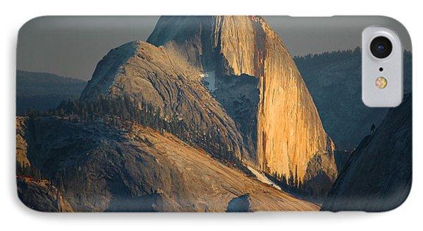Half Dome At Sunset - Yosemite Phone Case by Stephen  Vecchiotti