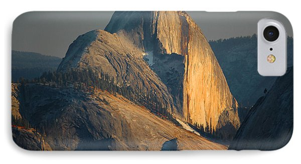 Half Dome At Sunset - Yosemite IPhone Case by Stephen  Vecchiotti