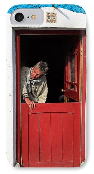 Half Door Phone Case by Aidan Moran