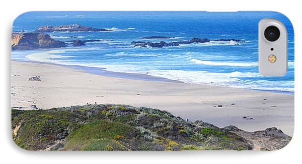 Half Moon Bay IPhone Case by Holly Blunkall