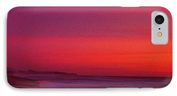 Half Moon Bay Sunset Phone Case by Vicky Brago-Mitchell