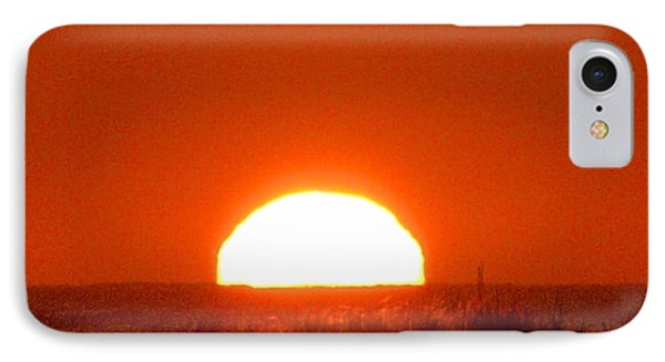 Half Sun IPhone Case by  Newwwman