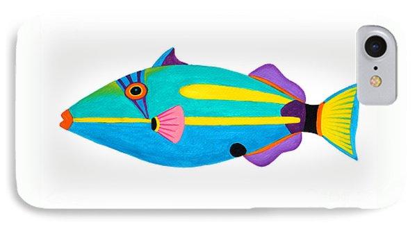 Halfmoon Triggerfish  Phone Case by Opas Chotiphantawanon