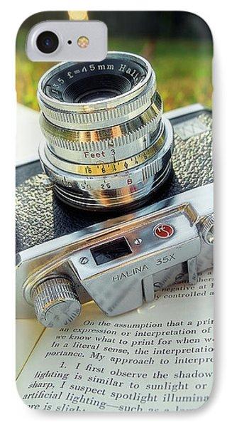 Halina 35x Rangefinder Camera IPhone Case