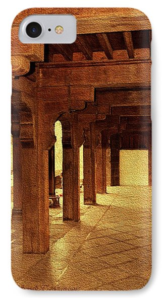 Hall Above Dilli Darwaza IPhone Case by Sonali Gangane