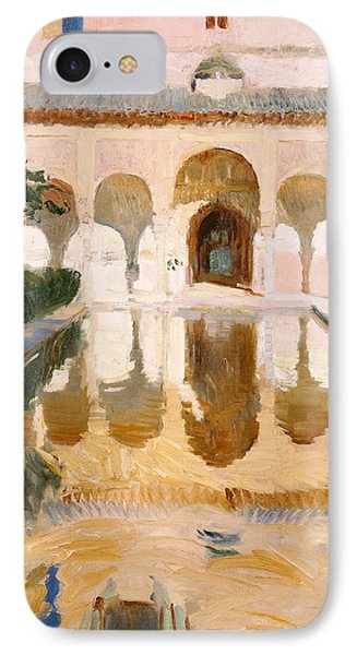 Hall Of The Embassadors Alhambra Granada IPhone Case