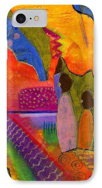 Hallelujah Praise IPhone Case by Angela L Walker