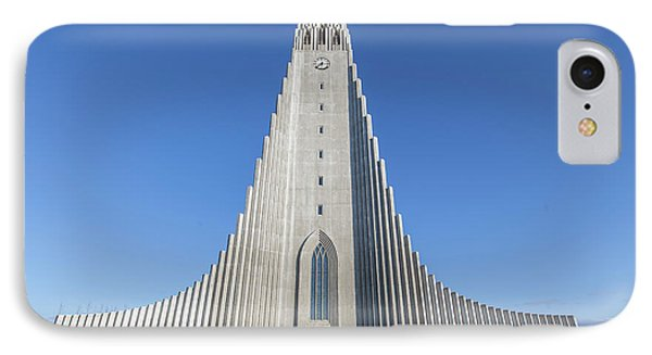 Hallgrimskirka IPhone Case by Wade Courtney