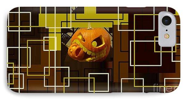 Halloween Digital Collage IPhone Case