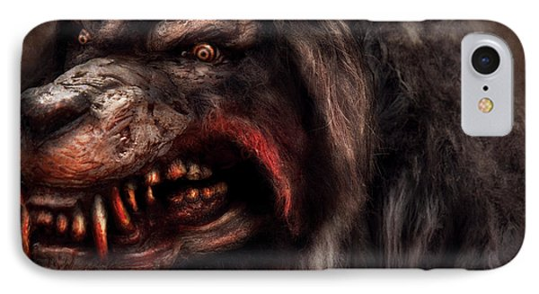 Halloween -  Mad Dog Phone Case by Mike Savad