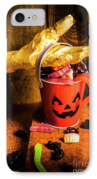 Halloween Candy Still Life IPhone Case