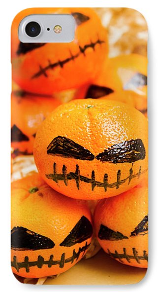 Halloween Craft Treats IPhone Case by Jorgo Photography - Wall Art Gallery