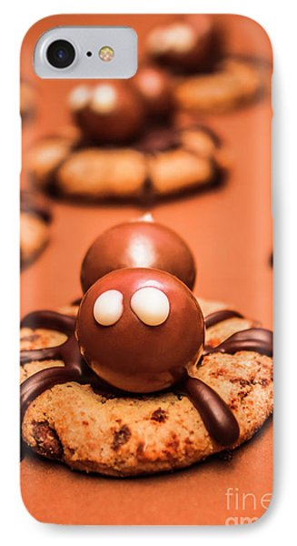 Halloween Homemade Cookie Spiders IPhone Case by Jorgo Photography - Wall Art Gallery