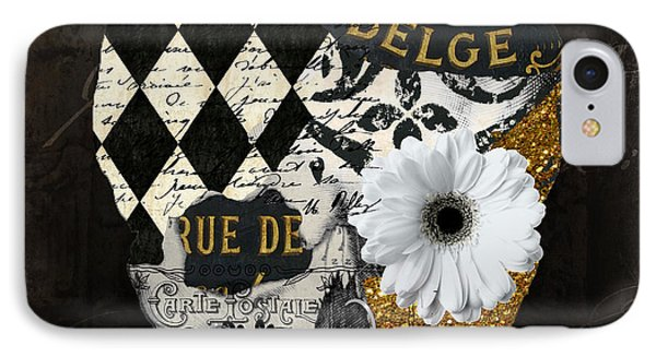 Halloween In Paris IPhone Case by Mindy Sommers