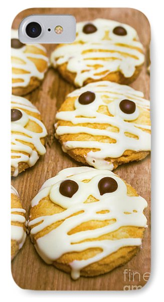 Halloween Little Monster Biscuits IPhone Case by Jorgo Photography - Wall Art Gallery