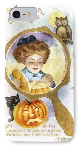 Halloween Owl IPhone Case