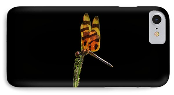 IPhone Case featuring the photograph Halloween Pennant Dragonfly .png by Al Powell Photography USA