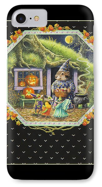 Halloween Treats IPhone Case by Lynn Bywaters
